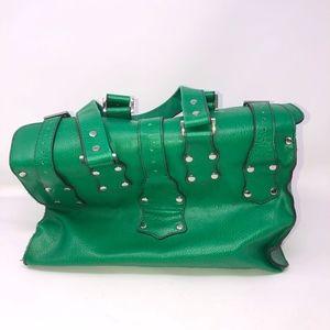 Matt Nat Montreal Vegan Leather Purse Green